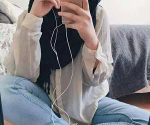fashion, hijab, and cute image