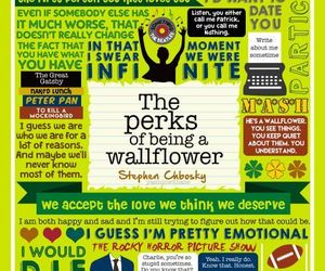 books, stephen chbosky, and the perks of being a wallflower image