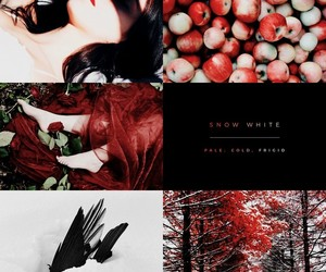 aesthetic, disney, and snow white image