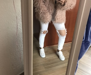 casual, chic, and pink image
