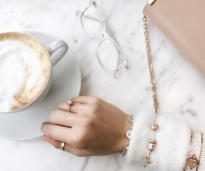 coffee, accessories, and luxury image