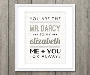 elizabeth bennett, mr darcy, and pride and prejudice image