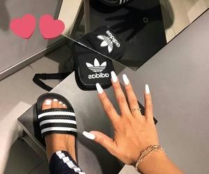 adidas and nails image