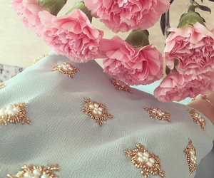embroidery, haute couture, and we heart it image