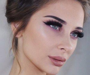 beauty, gina shkeda, and makeup image