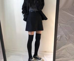 fashion, girl, and kfashion image