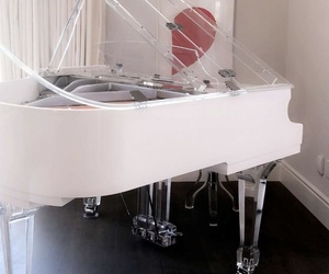 aesthetic, interior, and piano image