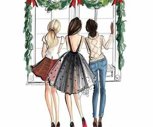 fashion and christmas image