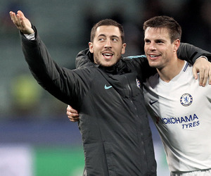 Chelsea FC, football, and eden hazard image