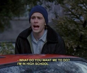 high school, james franco, and quotes image