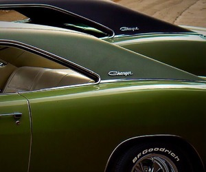 cars, muscle cars, and green image