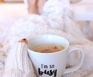 cozy, hot ​chocolate, and coffee image