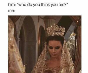 funny, Queen, and meme image