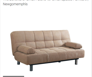 furniture, futon, and small space image