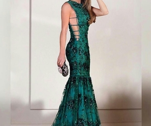 dress, party dress, and fashion image
