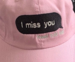 pink, tumblr, and hat image