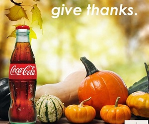 autumn, fall, and cocacola image