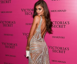 brown hair, fashion, and Victoria's Secret image