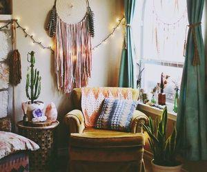 boho, decor, and dreamcatcher image