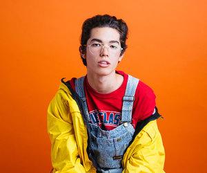 aesthetic, boy, and orange image