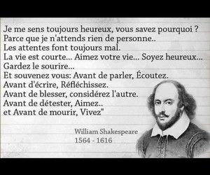 quotes, french quotes, and shakespear image