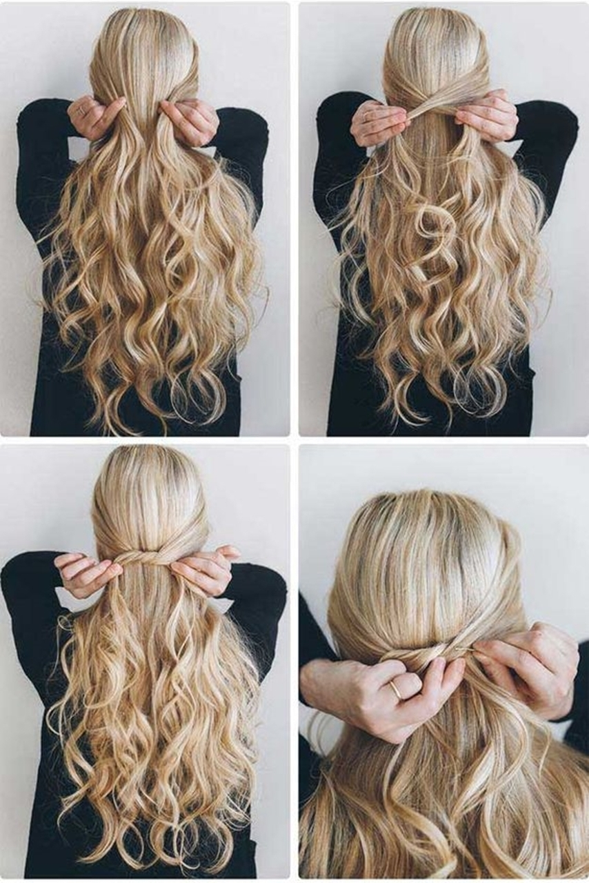 Long Hair With Easy Hairstyle