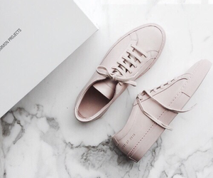 pink, sneakers, and tennis shoes image