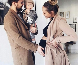 babies, baby, and daddy image