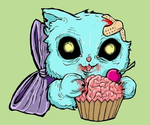 cake, cats, and comer image