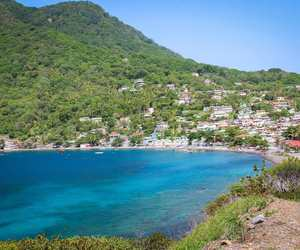 west indies, dominica, and scotts head image