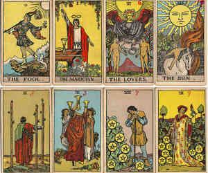 tarot, tarot cards, and tarot deck image