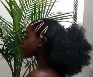 Afro, beauty, and girl image