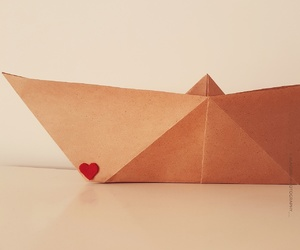 handmade, origami, and paperboat image