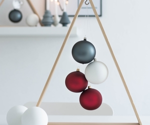 baubles, decor, and winter image