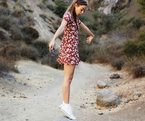 dress, cute, and inlove image