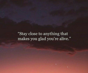 quotes, alive, and sky image