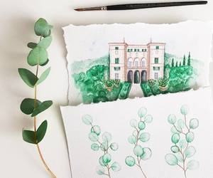 green, handpainted, and venue image