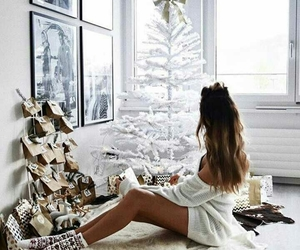 christmas, winter, and girl image
