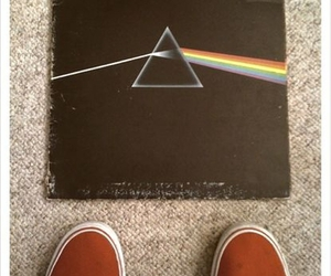 dark side of the moon, Pink Floyd, and vans image
