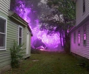 fire, aesthetic, and house image