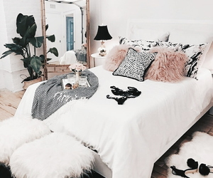 aesthetic, tumblr, and bedroom image