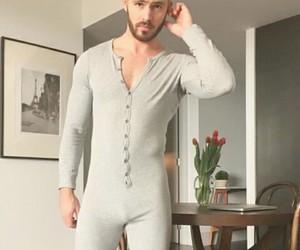 beard, bulge, and gray image