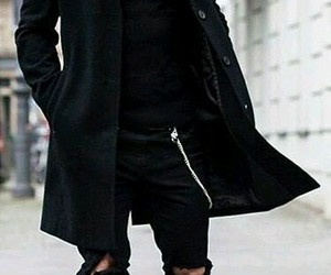 fashion, man, and outfit image