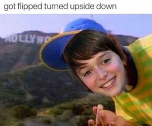 stranger things, will byers, and meme image