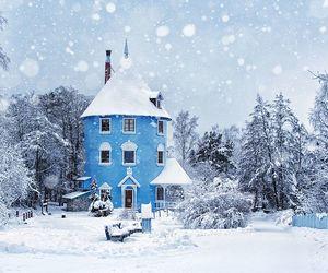 winter and moomin image
