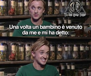 draco malfoy, tom felton, and thomas andrew felton image