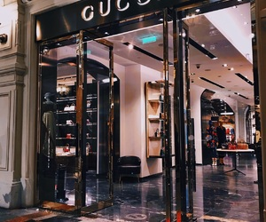 gucci, prank, and shop image