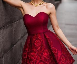 dress, goal, and white image
