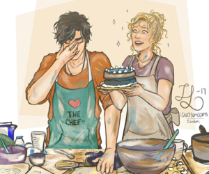 percy jackson, happy birth day, and annabeth chase image