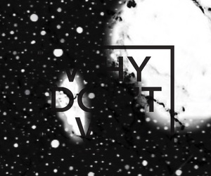 black, marble, and stars image